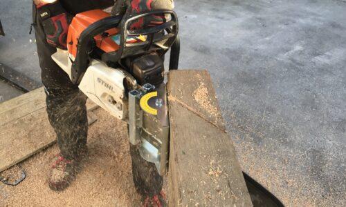 """Travailler en sécurité avec la tronçonneuse lors d'activités non-forestières (Module """"MS"""")"""